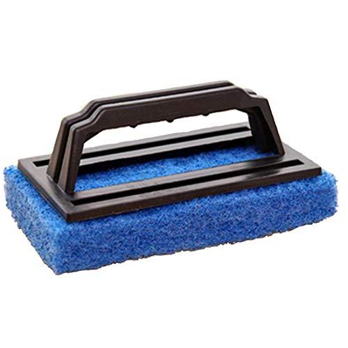 Qise Cepillo de Limpieza Descontaminación Cinturón Mango Esponja Parte Inferior Baño Bañera Cepillo Esponja Cepillo