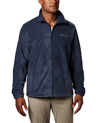 Columbia Men's Steens Mountain Full Zip 2.0 Soft Fleece Jacket, Collegiate Navy, - Men Columbia Jacket Blue