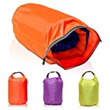 CAMTOA 40L Lightweight Dry Sacks Waterproof Dry Bag Canoe For Floating Boating Kayaking Camping (Color Fortuitously)