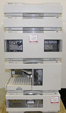 Agilent/HP 1100 HPLC System with Binary Pump, Autosampler and VWD ...