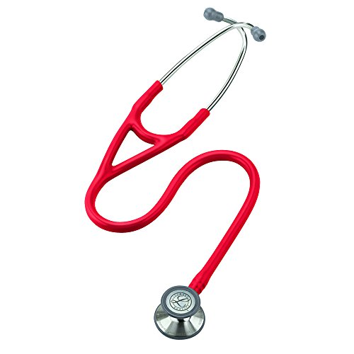 3M Littmann Cardiology III Stethoscope, Red Tube, 27 inch, 3140