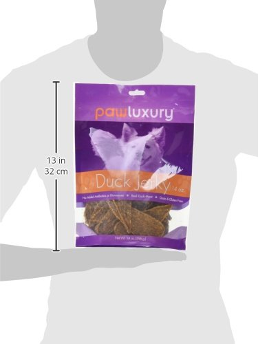 Pawluxury Duck Jerky by (14 oz.) 100% Natural Duck Dog Treats by Pawluxury (Image #5)