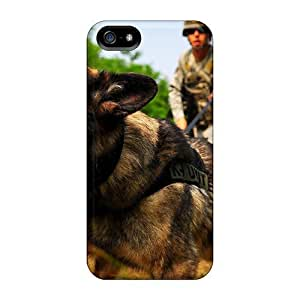 Fashion Protective War Dog Cases Covers For Ipod Touch 5