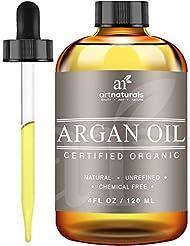 Art Naturals Organic Argan Oil for Hair, Face & Skin...