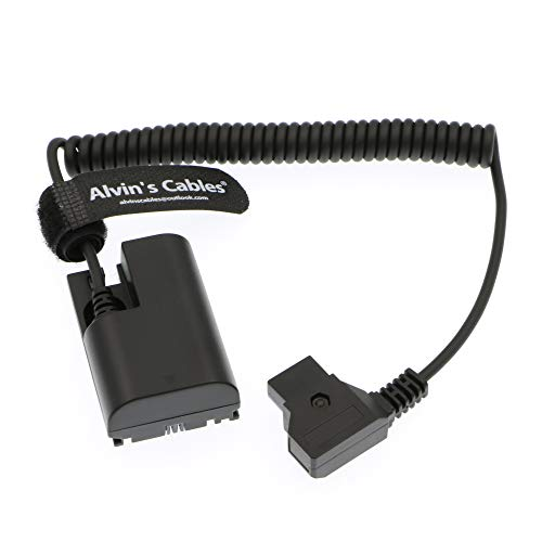 Alvins Cables Lanparte LP E6 Dummy Battery to D-Tap Cable for SmallHD 501 502 702 Monitor