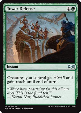 Magic: The Gathering - Tower Defense - Foil - Ravnica Allegiance (Best Tower Defense Games Of All Time)