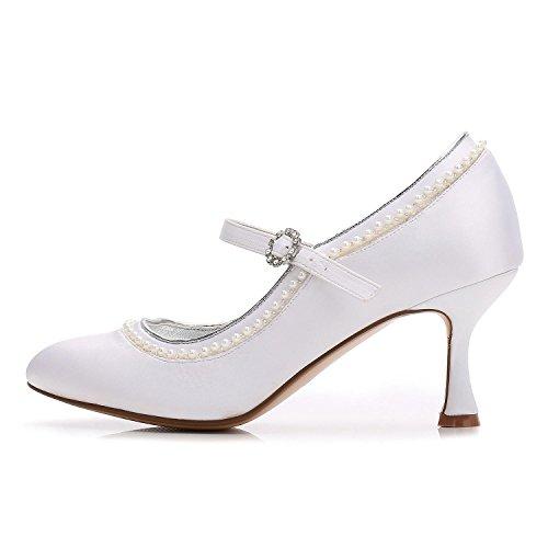 YC L Mariage De Personnalisé 56 Chaussures D'âGe artificiel Femmes avec Moyen Chaton Diamant red Mousseux Demoiselle F17061 D'Honneur Faible Cdq1rdHw