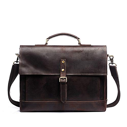 Cuir Brown En Et Sac color Felicipp L'école Homme Vintage Le Travail Messenger À Light Brown Porte Bandoulière Dark Pour documents YFT0q
