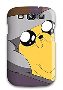 New Design Shatterproof ZSgIwCI5523BPAOW Case For Galaxy S3 (adventure Time)