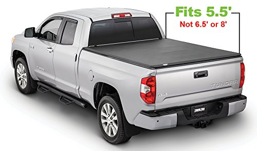 Fold Cover Truck Tonneau (Tonno Pro Tonno Fold 42-508 TRI-FOLD Truck Bed Tonneau Cover 2014-2018 Toyota Tundra | Fits 5.5' Bed)