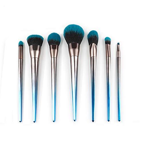 - Best Quality - Eye Shadow Applicator - 7cs Makeup Brushes Set Diamond Handle Powder Foundation Blusher Contour Eyebrow Eyeshadow Brush Cosmetic Tools Pincel Maquiagem - by Mariahanan - 1 PCs