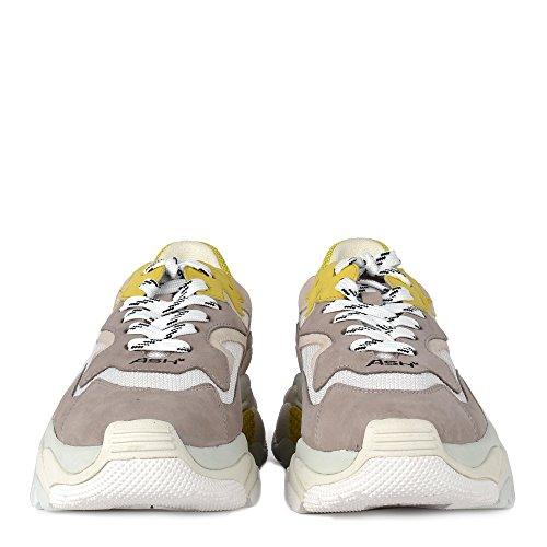 Femme Blanc Chaussures Addict Baskets Et Gris Jaune Gris Ash Pqw4Y