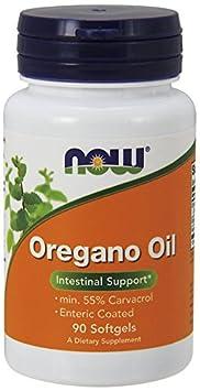 NOW Foods Oregano Oil Enteric, 360 Softgels Pack
