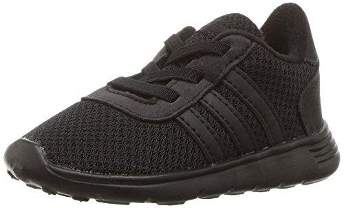 adidas NEO Boys' Lite Racer Inf Sneaker, Black/Black/Black, 5 Medium US - Neo Apparel