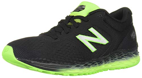 New Balance Boys' Arishi V2 Running Shoe, Black, 4W (Best Shoes For Gym Classes)