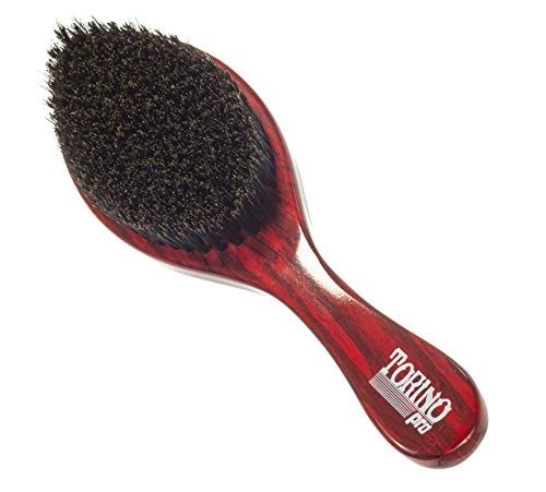 (Torino Pro Wave Brushes By Brush King #11- Medium Soft Curve Wave brush- Great for fresh cuts - For 360 waves)