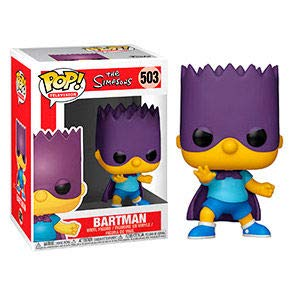 Funko The Simpsons: Bart Simpson - Bartman Pop! Vinyl Figure (Includes Compatible Pop Box Protector Case)