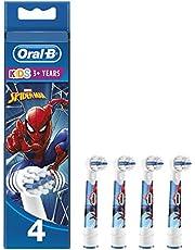 Oral-B Kids Opzetborstels Met Marvel Spider-Man-figuren, 4 Stuks