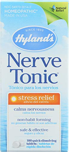 Hyland's (NOT A CASE) Nerve Tonic Stress Relief, 100 Tablets