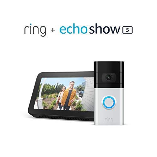 Ring Video Doorbell 3 with Echo Show 5