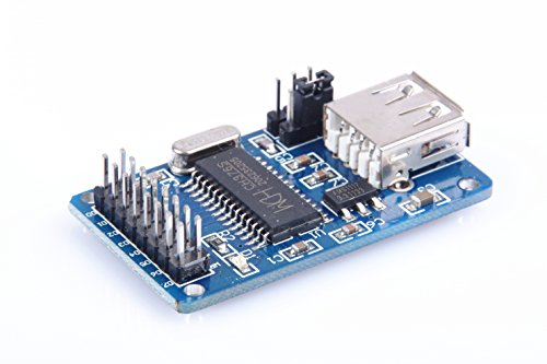 Price comparison product image KNACRO CH376 U Disk Read-write Module USB Flash Disk Net USB output IC CH376S U Disk Read Write Module