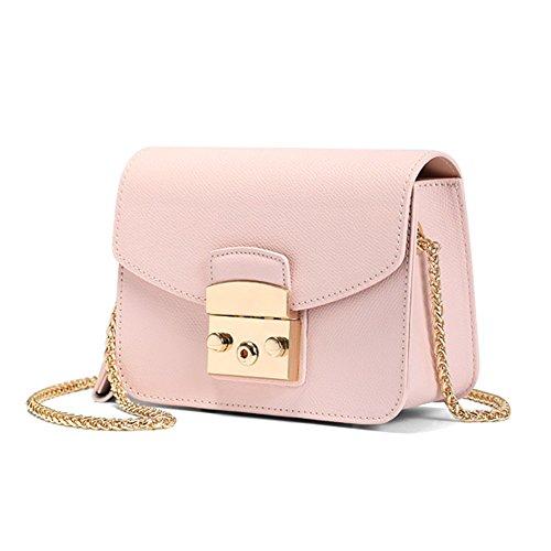 Mini Pink Women Crossbody Cow Genuine Bag Metropolis Leather Actlure Summer Purse Shoulder AYxPqwxCd