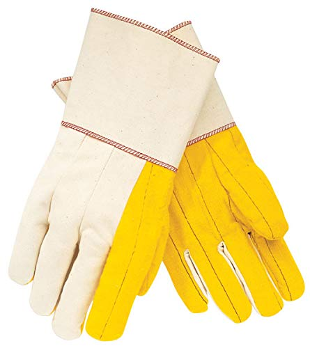 MCR Safety 8516G Gold Palm Chore Glove with 5