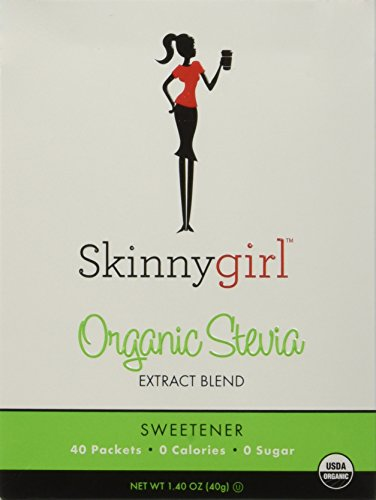 (Skinnygirl Organic Stevia Extract Blend Sweetener -40 Packets Each (2 Pack))