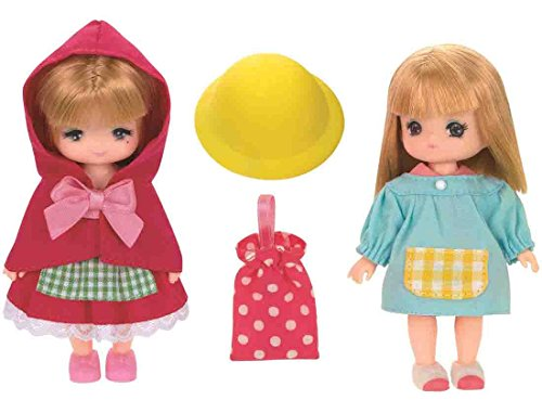 Licca-chan Dress LW-23 Miki Maki Dress Set (Little Red Riding Hood & smock)