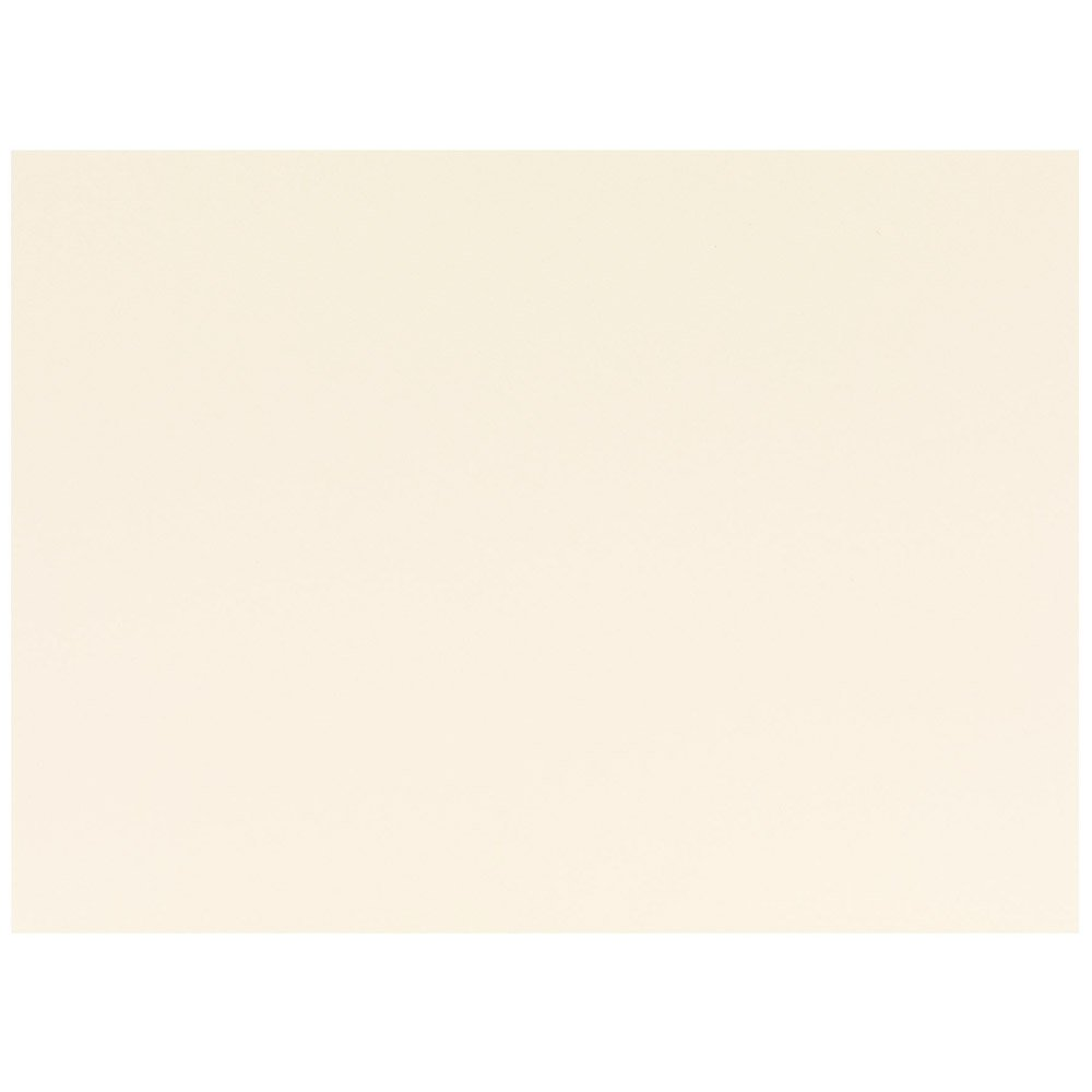 JAM PAPER Blank Flat Note Cards - 4 5/8 x 6 1/4 (Fits in A6 Envelopes) - Ivory - 100/Pack