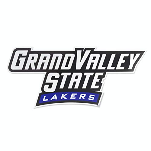 Nudge Printing Grand Valley State University GVSU Lakers Long Car Window Decal Bumper Sticker Emblem Laptop Sticker