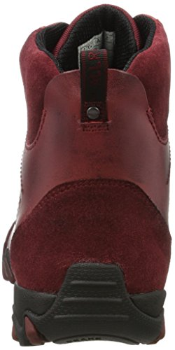 Allrounder by Mephisto Nelja, Zapatillas de Running Para Mujer Rojo (Winter Red C.suede 11/d.leather 11)