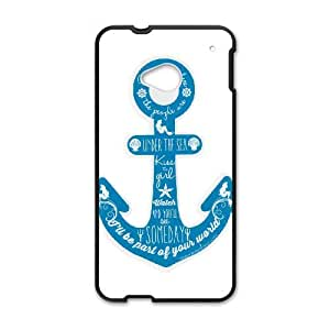 Anchor Quotes HTC One M7 Cell Phone Case Black SUJ8456084