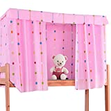 Heidi Star String Bed Canopy Single Sleeper Bunk Bed Curtain Student Dormitory Blackout Cloth Mosquito Nets Bedding Tent