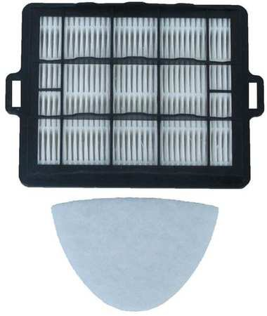 Filter, Exhaust Filter, HEPA, 6 in. L, PK2 by Atrix International