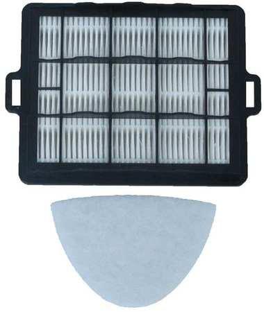 Filter, Exhaust Filter, HEPA, 6 in. L, PK2