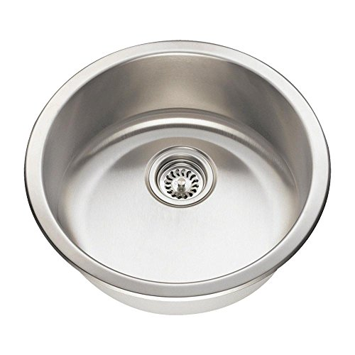 (465 18-Gauge Dual-Mount Single Bowl Stainless Steel Bar)