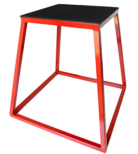 Plyometric Platform Box- 24 Red by Ader Sporting Goods by Ader Sporting Goods