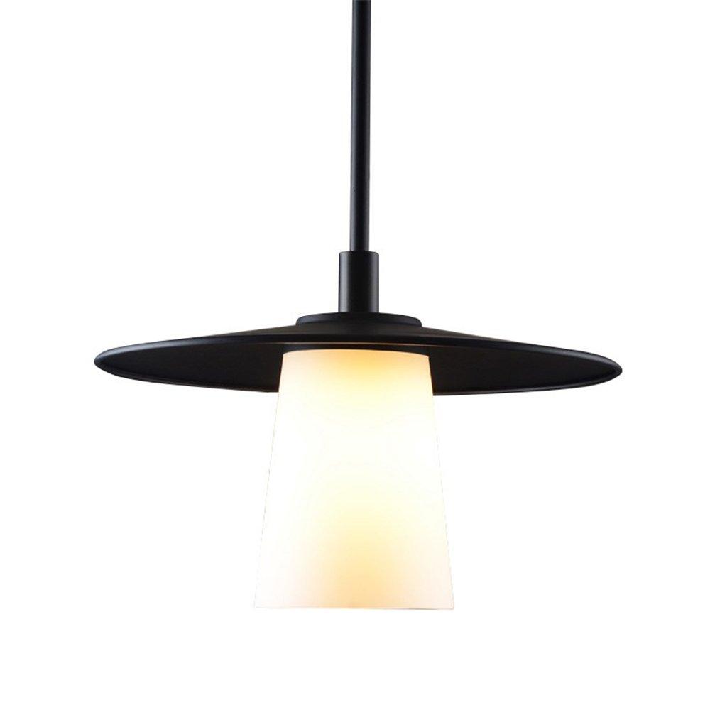 Retro Industrial Hängeleuchten Glas-Lampenschirm Pendelleuchte Einzelner Kopf Wohnzimmer Esszimmer Bar Badezimmer Hängelampe 1Xe27 MaxiMaß 40 W