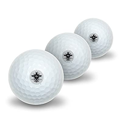 Novelty Golf Balls 3 Pack Pi Kappa Alpha Fraternity