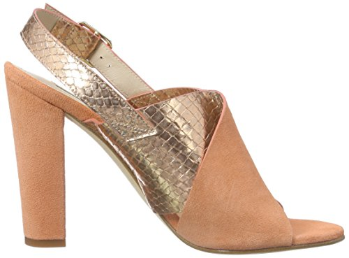 Sandals Back Sling Women's Gold Gil Gold Paco P3045 Pesca Nassau Fwq6HI4XH