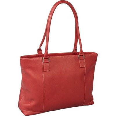 Le Donne Leather Women's Laptop Tote (Red)