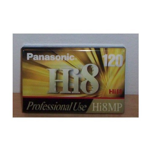 Panasonic Hi8 8mm CAMCORDER VIDEO TAPE 120 min