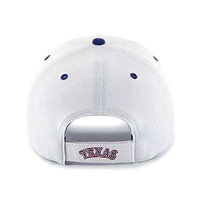 MLB Texas Rangers Condenser Adjustable Hat, One Size, White