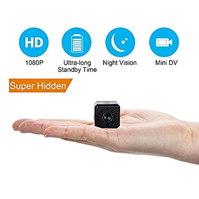 Spy Camera,IDV 1080P Mini Hidden Camera, Baby/Elder/Pet/Nanny Monitor Cam with Night Vision and Motion Detection, Small Covert Security Camera System for Home, Office,Car,Drone