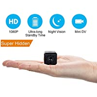 Spy Camera,IDV 1080P Mini Hidden Camera, Baby/ Elder/ Pet/ Nanny Monitor Cam with Night Vision and Motion Detection, Small Covert Security Camera System for Home, Office ,Car,Drone