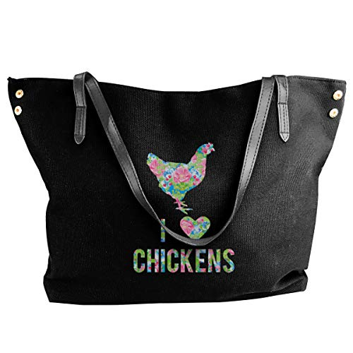 I Love Chickens Tote Bags...