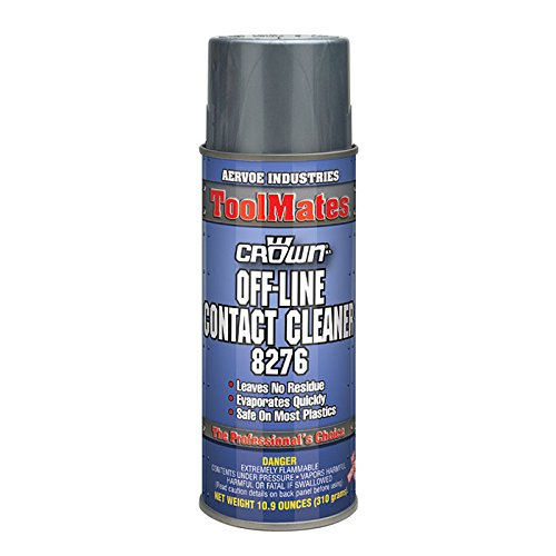 (Crown 8276 Off-LINE Contact Cleaner - 10 oz Aerosol, Colorless)