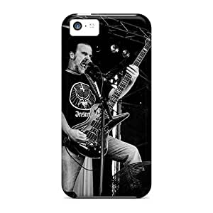 Shock Absorbent Hard Phone Cases For Iphone 5c (JJH20088rzuM) Support Personal Customs Beautiful Carcass Band Pattern