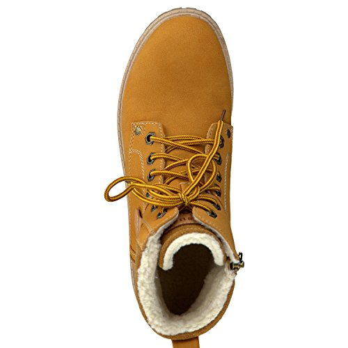 2 pour 26272 Gelb lacets femmes à yellow 39 Kombi kombi 681 Tozzi Marco bottes wq0g1YI